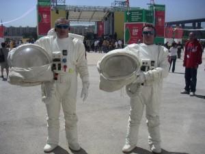 Costumes-Cosmonautes